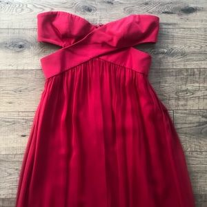 Jay Godfrey Size 6 Red Dress